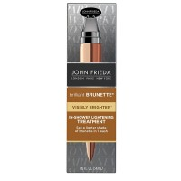 John Frieda Brilliant Brunette Visibly Brighter In-Shower Lightening Treatment 1.15 oz [717226222658]