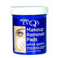 Andrea Eye Q's Eye Make-Up Remover Pads Ultra Quick 65 Each [078462066889]