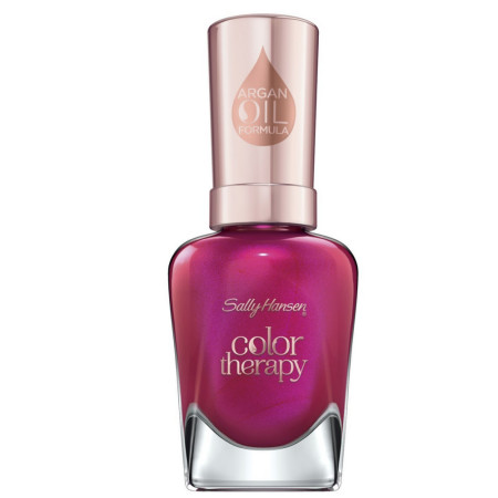 Sally Hansen Color Therapy Nail Polish, Rosy Glow 0.5 oz [074170443646]