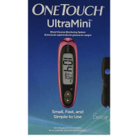 OneTouch UltraMini Blood Glucose Monitoring System, Pink Glow 1 ea [353885001359]