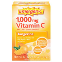 Emergen-C 1,000 mg Vitamin C Drink Mix Packets, Tangerine 10 ea [076314302994]