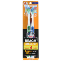 REACH Ultra Clean Soft Toothbrushes 4 ea [840040192286]