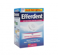 Efferdent Anti-Bacterial Denture Cleanser Tablets 102 ea [814832015879]