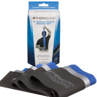 Thera-Band Latex-Free Resistance Bands 3-Pack, Advanced 1 ea [087453130751]