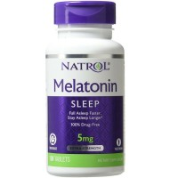 Natrol Melatonin Time Release 5mg Tablets 100 ea [047469048372]