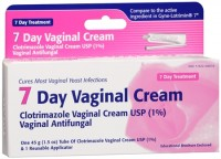 Taro Clotrimazole 7 Vaginal Cream 45 g [351672200367]