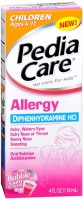 PediaCare Children's Allergy Liquid Bubble Gum 4 oz [814832011291]