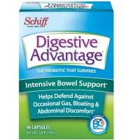 Digestive Advantage Intensive Bowel Support Probiotic Capsules, 96 ct [815066001171]
