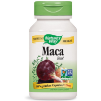 Nature's Way Maca Root Vegetarian Capsules 525 mg 100 ea [033674153109]