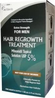 Minoxidil 5% Extra Strength Hair Regrowth Treatment Solution 60 ml [1 month supply] [304720094739]