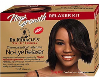 Dr. Miracle's New Growth Intensive No-Lye Relaxer Kit Super Strength,  1 ea [897127000507]