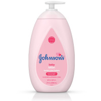 JOHNSON'S Moisturizing Baby Lotion with Coconut Oil, Hypoallergenic 27.1 oz [381371175611]