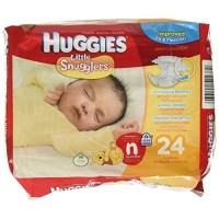 Baby Diaper Huggies Pull On Newborn Disposable Heavy Absorbency - 24 ea [036000522389]