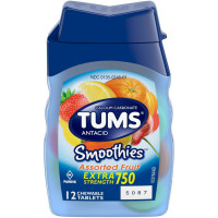 TUMS Smoothies Tablets Assorted Fruit 12 ct [307660740605]