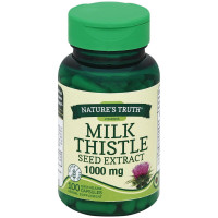 Nature's Truth Milk Thistle Seed Extract 1000 mg Capsules 100 ea [840093101129]