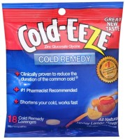 COLD-EEZE Lozenges All Natural Honey Lemon 18 Each [091108101676]