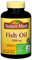 Nature Made Fish Oil 1200 mg Softgels 100 Soft Gels [031604013288]
