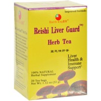 Health King Herbal Tea Bags, Reishi Liver Guard 20 ea [646322000146]