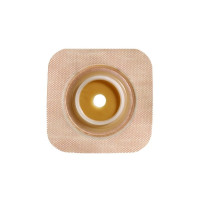 "Colostomy Barrier SurFit Natura PreCut Standard Wear Stomahesive Tan Tape 134"" Flange SurFit Natura Hydrocolloid 34"" Stoma [768455101825]"