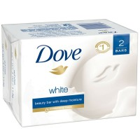 DOVE Beauty Bar White 4 oz, 2 Bar [011111611337]