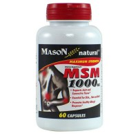 Mason Natural MSM 1000 mg Capsules 60 ea [311845126252]