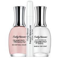 Sally Hansen Diamond Strength French Manicure Pen Kit, Ballet Bare 1 ea [074170451412]