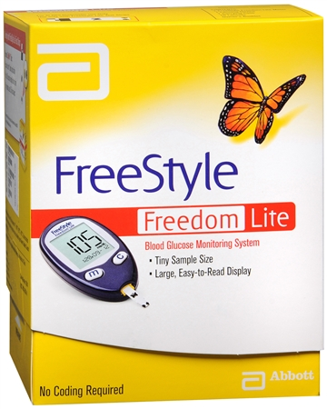 Freestyle Freedom Lite Blood Glucose Monitoring System 1