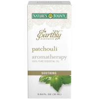 Nature's Bounty Earthly Elements Patchouli Essential Oil 0.34 oz [074312601309]