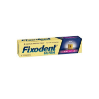 Fixodent Ultra Max Hold Dental Adhesive, 2.2 oz [037000756057]