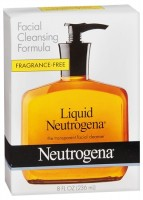 Neutrogena Liquid Facial Cleansing Formula Fragrance-Free 8 oz [070501011805]