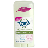 Tom's of Maine Naturally Dry Antiperspirant, Powder 2.25 oz [077326831953]