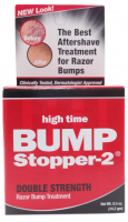 High Time Bump Stopper-2 Double Strength Razor Bump Treatment, 0.5 oz [043429110004]