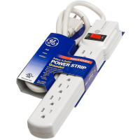 GE 6-Outlet Power Strip 1 ea [043180572448]