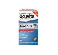 Bausch + Lomb Ocuvite Adult 50+ Eye Vitamin & Mineral Supplement Softgels 90 ea [324208465707]