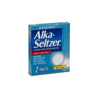 Alka Seltzer Antacid and Pain Relief Medicine, 2 ea [366715970312]