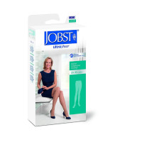 JOBST Ultrasheer Pantyhose 20-30 mmHg Firm Support, Beige, Large, 1 Pair [035664215149]