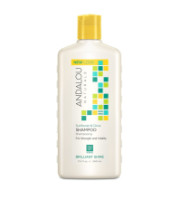 Andalou Naturals Brilliant Shine Shampoo, Sunflower & Citrus 11.5 oz [859975002027]