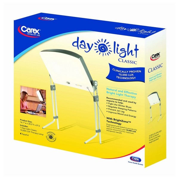Carez Daylight Classic 10 000 Lux Bright Light Therapy