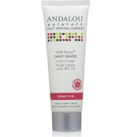 Andalou Naturals Roses Day Shade Facial Lotion 2.7 oz [859975020083]