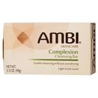Ambi Complexion Cleansing Bar Soap, 3.5 oz [301875481353]