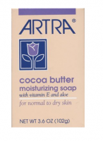 Artra Cocoa Butter Moisturizing Soap, 3.6 oz [075610422108]
