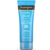 Neutrogena Hydro Boost Gel Moisturizing Sunscreen Lotion with Broad Spectrum and Water-Resistant, SPF 30 3 oz [070501113417]