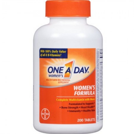 One-A-Day Women's Formula, 200 Tablets [016500074120]