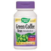 Nature's Way Green Coffee Bean Standardized Vcaps, 500 mg 60 ea [033674159071]