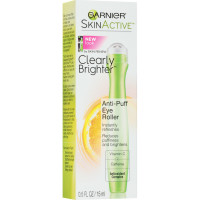 Garnier SkinActive Clearly Brighter Anti-Puff Eye Roller 0.5 oz [603084036356]