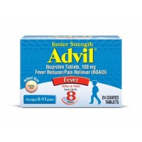 Advil Chewable Tablets Junior Strength 100 mg Grape 24 Tablets [305730179201]