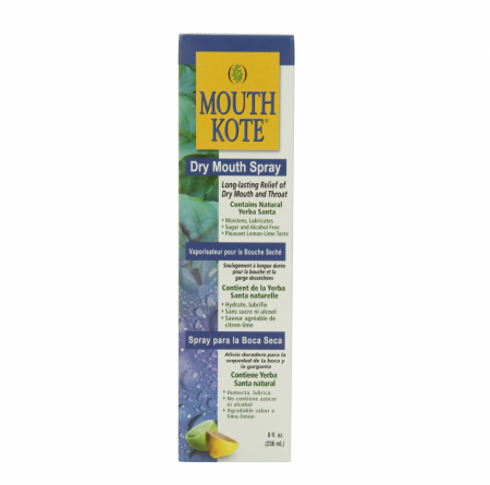 Mouth Kote Dry Mouth Spray, Oral Moisturizer with Yerba Santa 8 oz [350930098081]