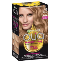 Garnier Olia Ammonia Free Hair Color [8.0] Medium Blonde 1 Each [603084294091]