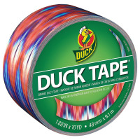 Duck Tape Tie Dye, 1.88 Inches x 10 Yards, Single Roll 1 ea [075353345788]