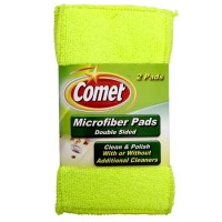 Comet Microfiber Pads Double Sided 2 ea [071582001495]